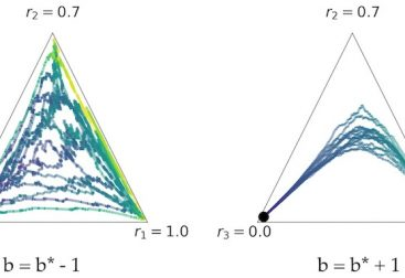 Different behaviours for baselines that induce the same variance